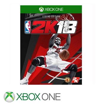 【传奇珍藏版】XBOX ONE NBA 2K18 亚中版(XB1 NBA18传珍)