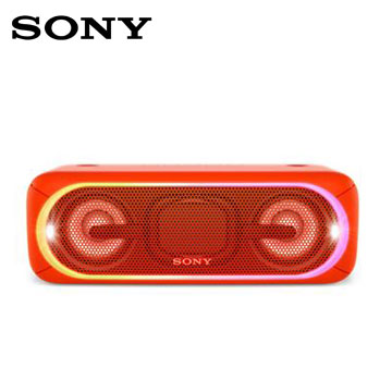 SONY NFC/蓝牙扬声器(SRS-XB40/R(红))