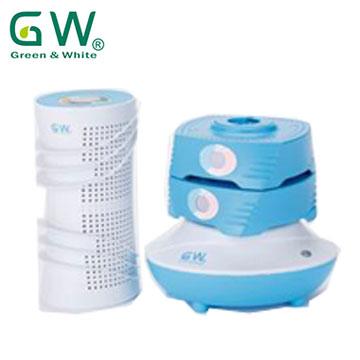 GW水玻璃直筒疊疊樂除濕機-海洋藍組