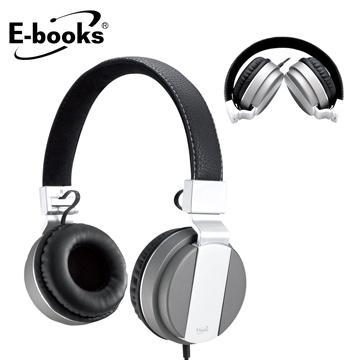 E-books S64 音控接听头戴折叠耳麦(E-EPA138)