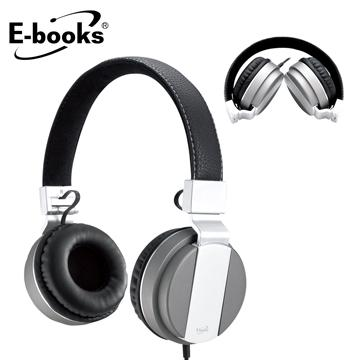 E-books S64 音控接聽頭戴摺疊耳麥