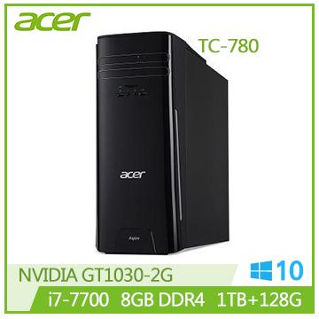ACER TC-780 i7-7700 GT1030 8G DDR4 1T 四核桌機