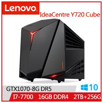 LENOVO IdeaCentre Y720 i7-7700 GT1070 2T桌上型主機