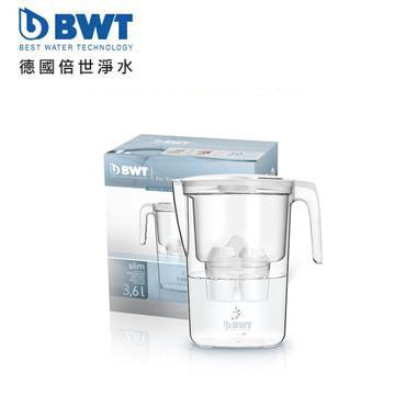 BWT德國倍世 鎂離子健康濾水壺(Slim 3.6L(雪花白))