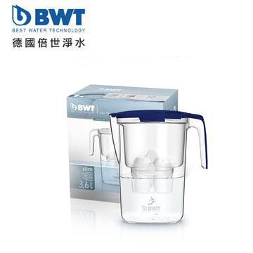 BWT德國倍世 鎂離子健康濾水壺(Slim 3.6L(深海藍))