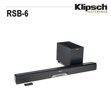 Klipsch 4K/蓝牙微型剧院(RSB-6)