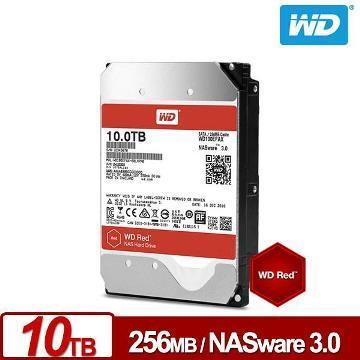 WD 3.5吋 10TB NAS硬碟(紅標)