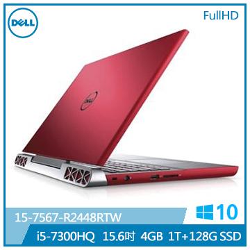 DELL 筆記型電腦(15-7567-R2448RTW紅)
