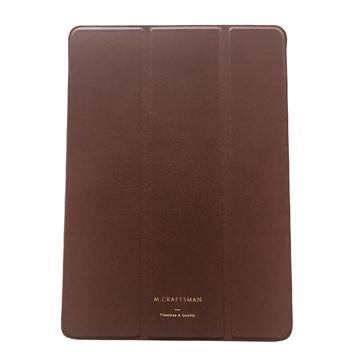 """【iPad Pro 10.5""""】M.CRAFTSMAN 極輕薄保護套-棕"""