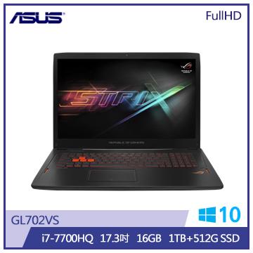 ASUS GL702筆記型電腦(GL702VS-0051C7700HQ)