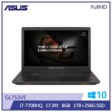 ASUS GL753筆記型電腦(GL753VE-0021B7700HQ)