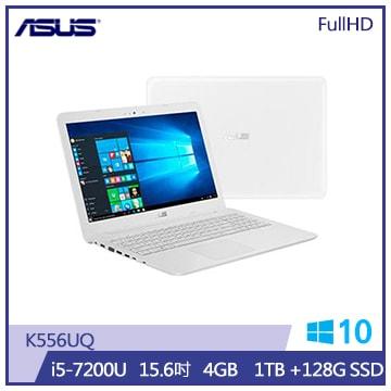 ASUS K556UQ筆記型電腦(天使白)(K556UQ-0243G7200U)