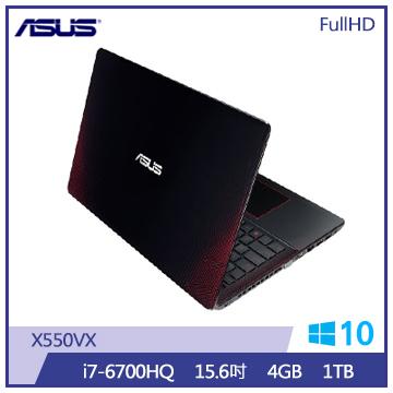 ASUS X550VX筆記型電腦(i7-6700HQ/1T)(X550VX-0083J6700HQ)