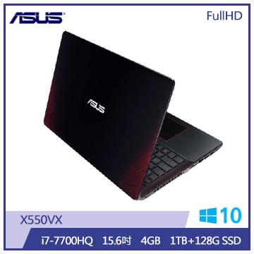 ASUS X550VX筆記型電腦(i7-7700HQ/1T+128S)(X550VX-0293J7700HQ)