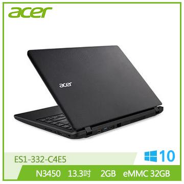 ACER ES1-332-C4E5 筆記型電腦(黑)