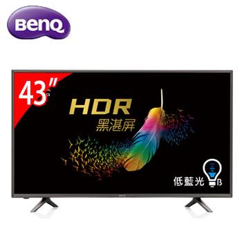 BenQ 43型4K低藍光智慧聯網顯示器