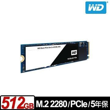 WD M.2 2280 512GB PCIe固态硬盘(黑标)(WDS512G1X0C)