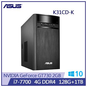 ASUS K31CD i7-770 GT730-2G 128G-SSD桌機