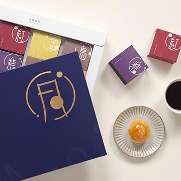 金鑛中秋蛋黃酥禮盒(綜合8入) *5盒(cfmooncake008)