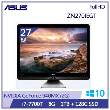 【27型】ASUS AIO ZN270IE i7-770 940MX-2G桌上型電腦(ZN270IEGT-770RA001T)