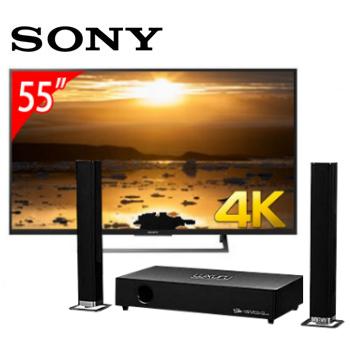 SONY 55型4K智慧連網電視+T.C.STAR藍牙微型劇院
