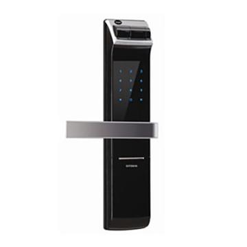 YALE YDM4109 熱感觸控指紋密碼電子鎖(黑)