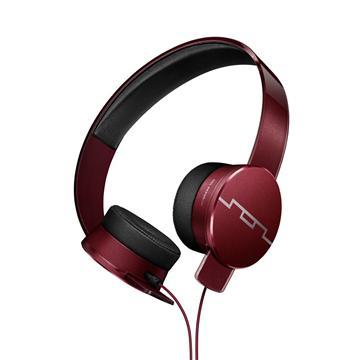 Sol Republic Tracks HD2耳罩式耳機-金屬紅