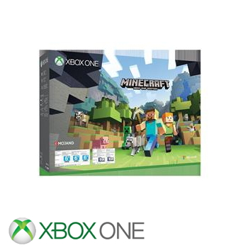 """""""同捆组""""【500G】XBOX ONE S主机 我的世界 Minecraft(ZQ9-00072)"""