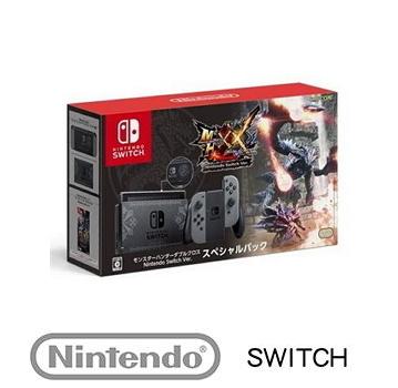 【日規機】 任天堂 Nintendo Switch 魔物獵人XX 同捆主機組