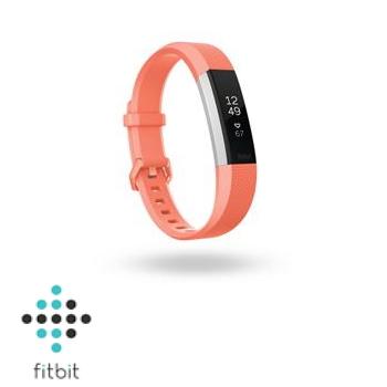 【L】Fitbit Alta HR 心率監測手環-珊瑚色