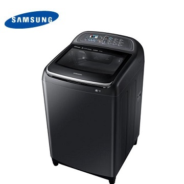【展示福利品 】SAMSUNG 16公斤双效手洗变频洗衣机-黑(WA16J6750SV/TW)
