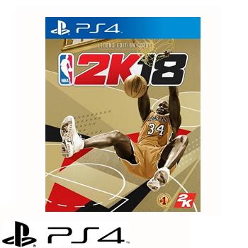 【黃金傳奇珍藏版】PS4 NBA 2K18 (中英文版)