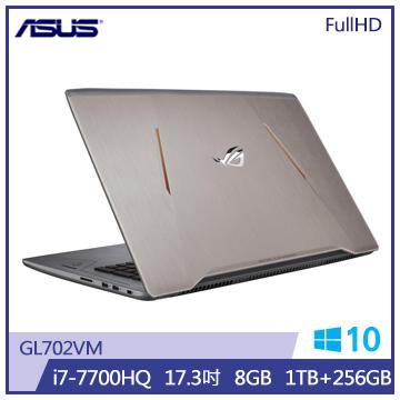 ASUS GL702VM 筆記型電腦(i7/裝甲鈦灰)(GL702VM-0091C7700HQ)