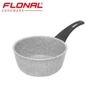 FLONAL新石器不沾導磁單手湯鍋20cm