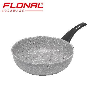 FLONAL新石器不沾導磁深煎鍋28cm