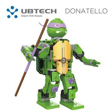 UBTECH JIMU TURTLES多納太羅-忍者龜機器人