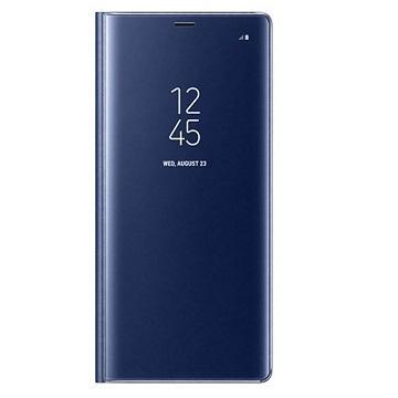 SAMSUNG GALAXY Note 8 全透视感应皮套(立架) - 蓝色(EF-ZN950CNEGWW)