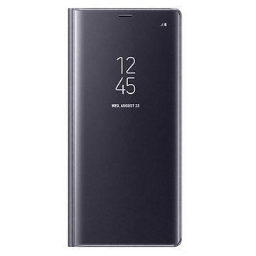 SAMSUNG GALAXY Note 8 全透视感应皮套(立架) - 紫色(EF-ZN950CVEGWW)