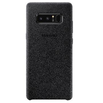 SAMSUNG GALAXY Note 8 Alcantara麂皮背盖 - 黑色(EF-XN950ABEGWW)