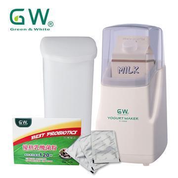 GW优格制造机(大)+优格乳酸菌粉1盒+发酵杯(Y-1000+X904-0003+PP)