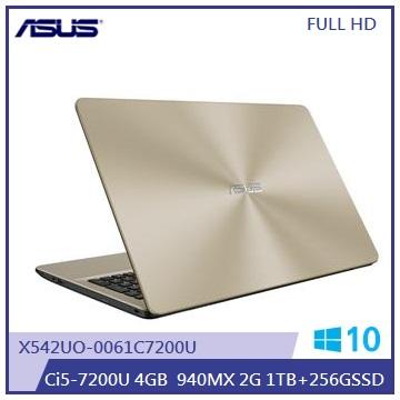 ASUS X542UQ笔记型电脑(i5/雾面金)(X542UQ-0061C7200U)