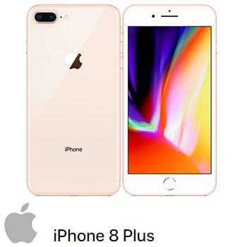 【64G】iPhone 8 Plus 金色(MQ8N2TA/A)