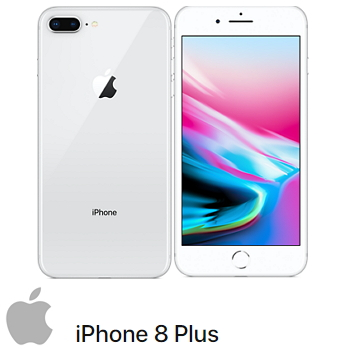 【256G】iPhone 8 Plus 银色(MQ8Q2TA/A)