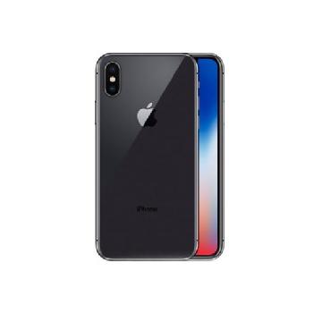 【皮革保護殼+保貼組】【64G】iPhone X 太空灰色