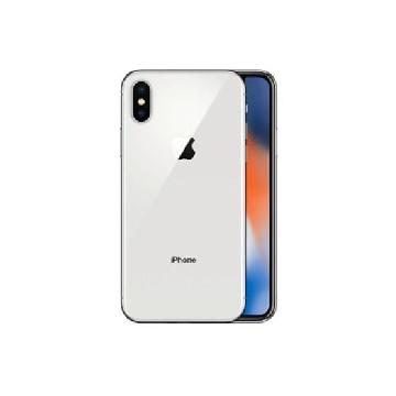【原廠殼+保貼套組】【64G】iPhone X 銀色