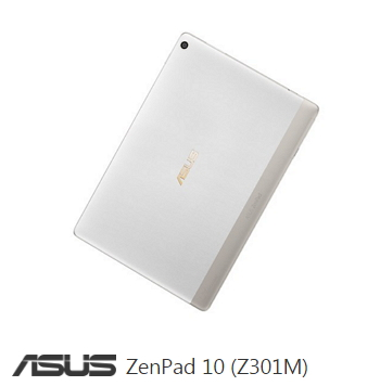 【WiFi版】ASUS ZenPad 10 16G-皓月白