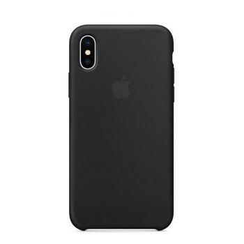 iPhone X 矽胶保护壳-黑色(MQT12FE/A)