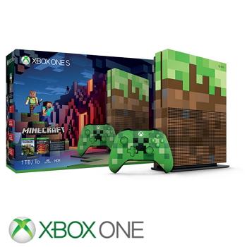 「特別版同捆組」【1TB】XBOX ONE S主機 我的世界 Minecraft Limited Edition