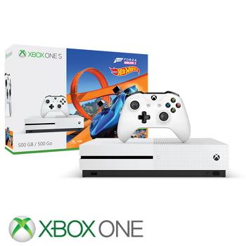 """""""同捆组""""【500G】XBOX ONE S 极限竞速地平线3风火轮 Forza Horizon 3 & Hot Wheels Bundle(ZQ9-00176)"""