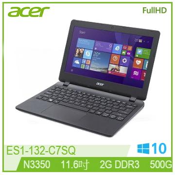 ACER ES1 11.6吋筆電(N3350/2G/500G/WIN10)
